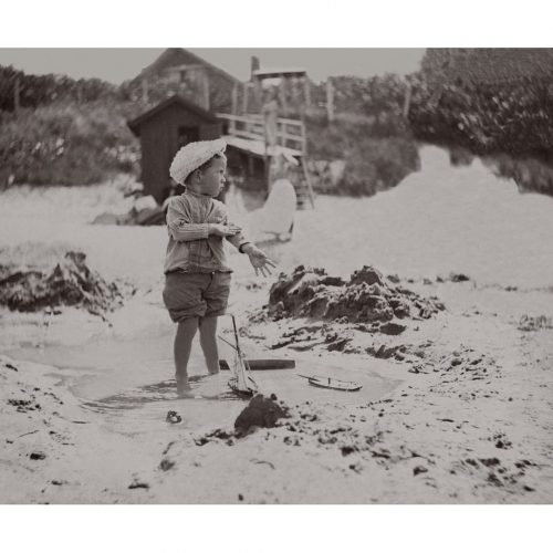 Photo d'époque tendre enfance n°09 - plage