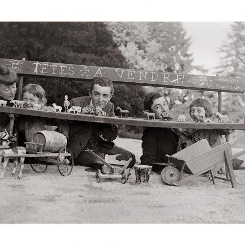 Photo d'époque tendre enfance n°19 - jeux d'enfants