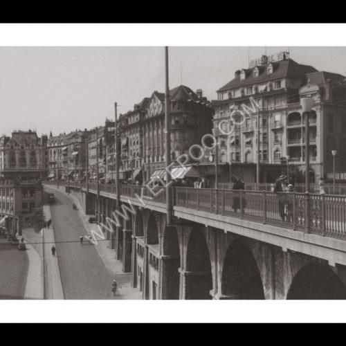 Photo d'époque Lausanne n°02 - 1938