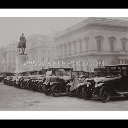 Photo d'époque Londres n°01 - Parking place Waterloo - Photographe Victor Forbin