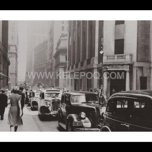 Photo d'époque New-York n°02 - Bourse de New-York 1939