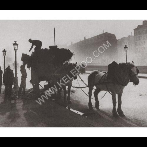 Photo d'époque Paris n°02 - 1900 ramassage ordures
