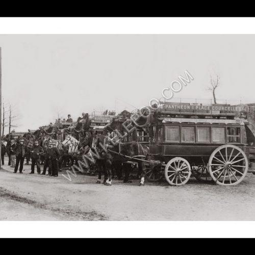 Photo d'époque Paris n°03 - 1900 - Vincennes