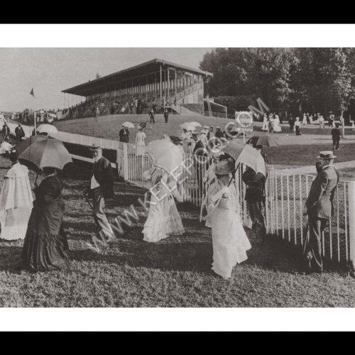Photo d'époque Paris n°04 - Hippodrome de Longchamp
