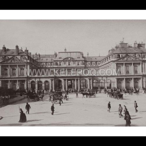 Photo d'époque Paris n°10 - Le Palais Royal