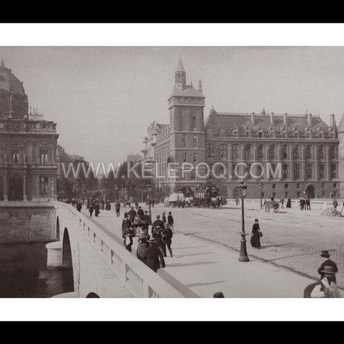 Photo d'époque Paris n°11 - Le Palais de justice