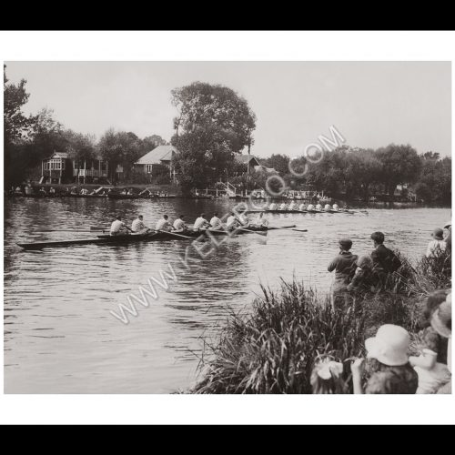 Photo d'époque sport n°29 - aviron - regate Staines - Photographe V. Forbin