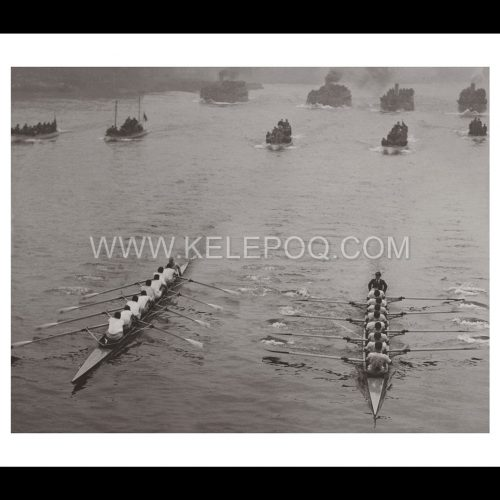 Photo d'époque Sport n°30 - course d'aviron
