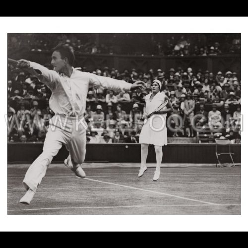Photo d'époque sport n°13 - tennis double Wimbledon