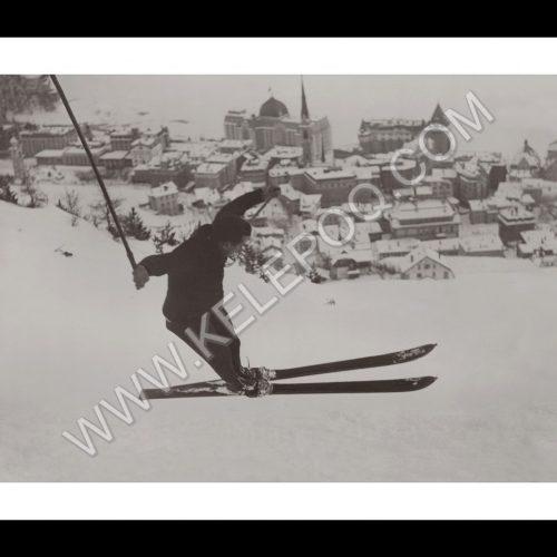 Photo d'époque sport n°15 - saut à ski - JO hiver