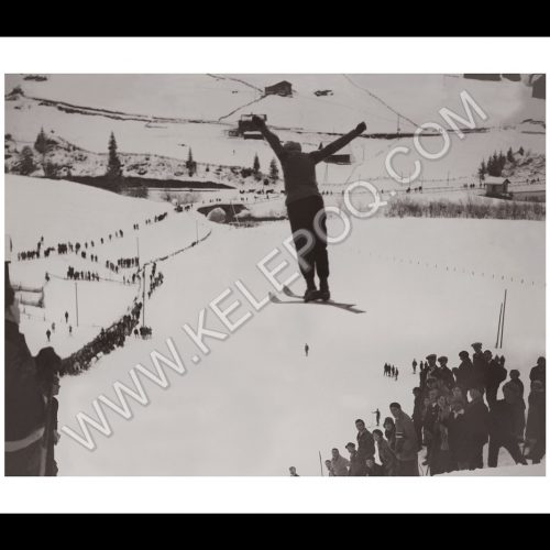 Photo d'époque Sport n°16 - saut ski
