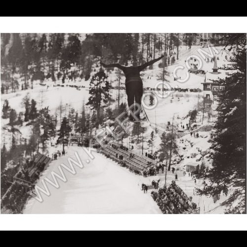 Photo d'époque Sport n°17 - saut à ski