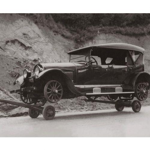 Photo d'époque Automobile n°59 - nouvelle remorque - photographe Victor Forbin