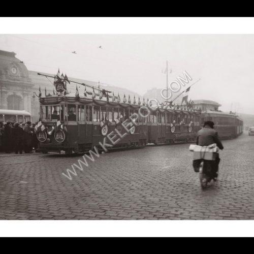 Photo d'époque Bordeaux n°01 - dernier tram