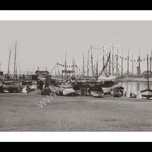 Photo d'époque Cannes n°05 - port Cannes en 1923