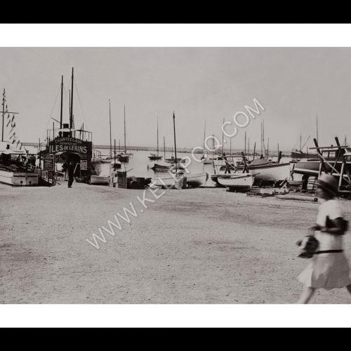 Photo d'époque Cannes n°04 - port de plaisance