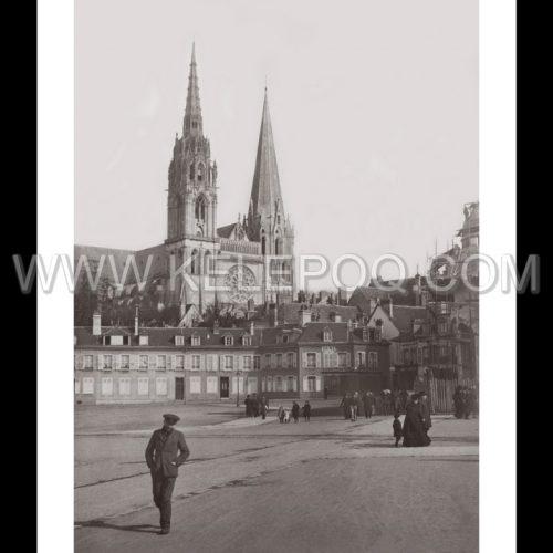 Photo d'époque Chartres n°02 - 1911