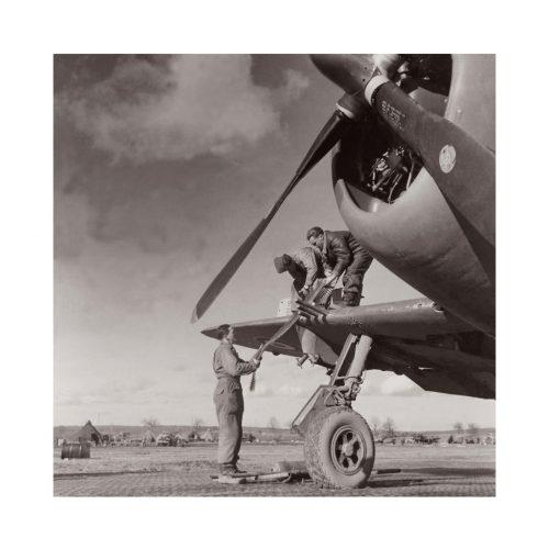 Photo d'époque dans les airs n°12 - Bristol Beaufighter - bombardier-torpilleur