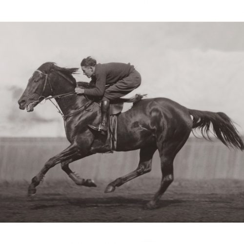 Photo d'époque Equitation n°40 - Melbourne Cup - photographe Victor Forbin
