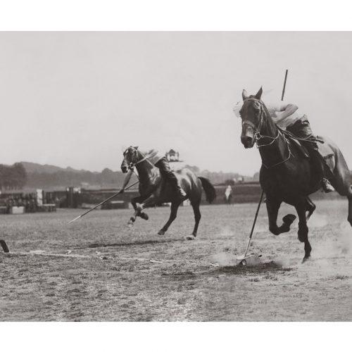 Photo d'époque Equitation n°41 - Woolwich garrison searchlight tattoo