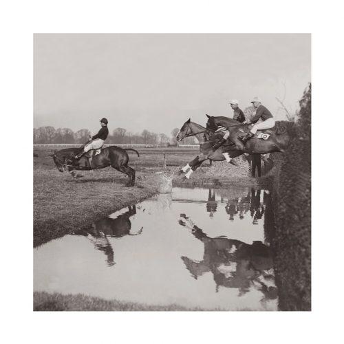 Photo d'époque équitation n°42 - course Hippique Gatwick