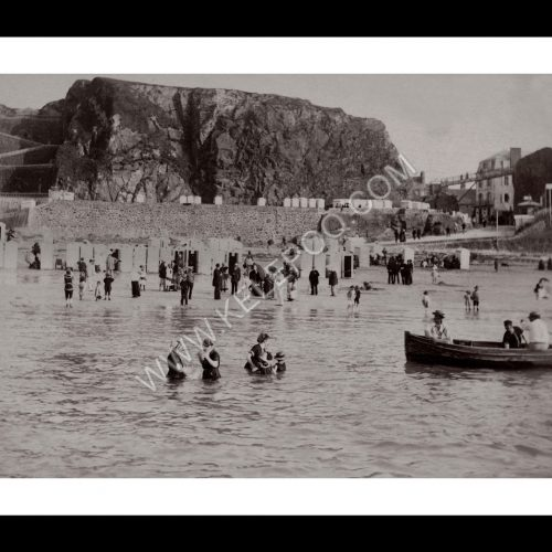 Photo d'époque Granville n°01 - les bains de mer