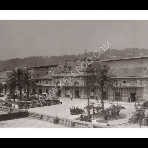 Photo d'époque Nice n°02 - Gare de Nice