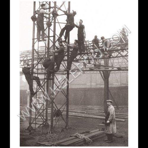 Photo d'époque industries n°05 - travail de l'acier