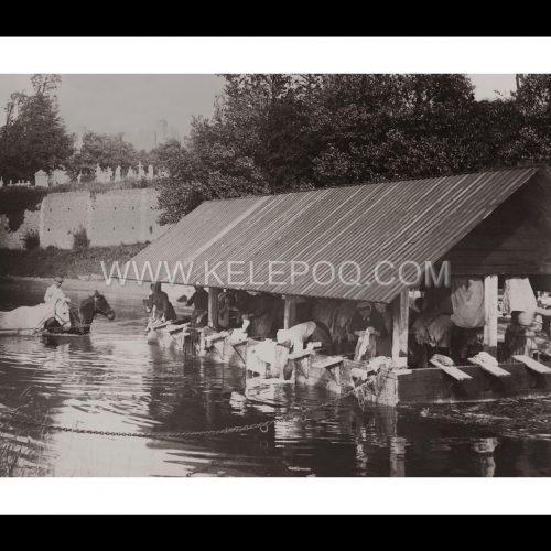 Photo d'époque campagne n°14 - Lavoir à Courseulles-sur-Mer - Normandie