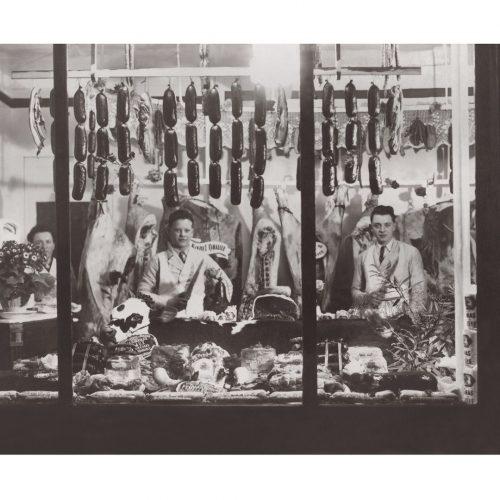 Photo d'époque commerce n°17 - boucherie