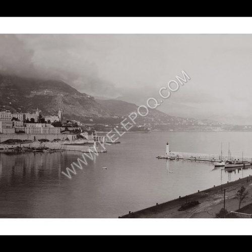 Photo d'époque Monaco n°01 - entrée du port