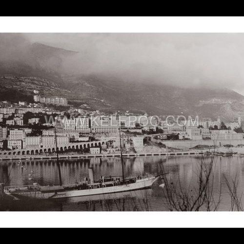 Photo d'époque Monaco n°02 - bateau de plaisance