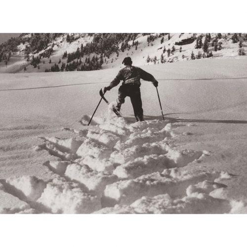 Photo d'époque montagne n°77 - ski