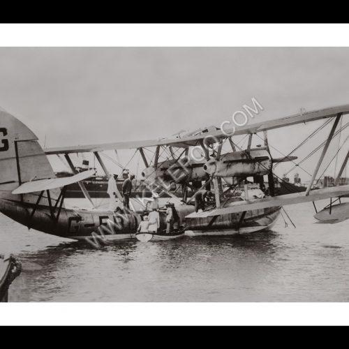 Photo d'époque dans les airs n°17 - hydravion