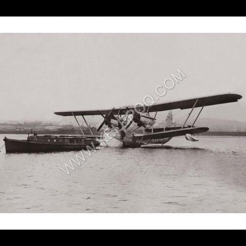 Photo d'époque dans les airs n°10 - avion Cobham