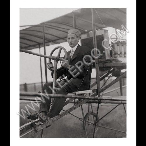 Photo d'époque dans les airs n°13 - avion Belle Epoque