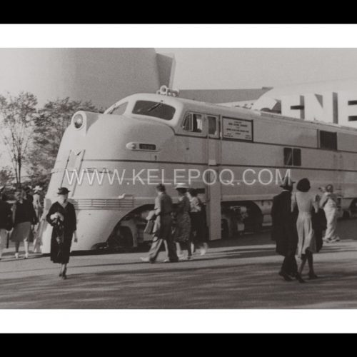 Photo d'époque locomotive n°06 - Locomotive Diesel General Motors Exposition Internationale New-York 1939