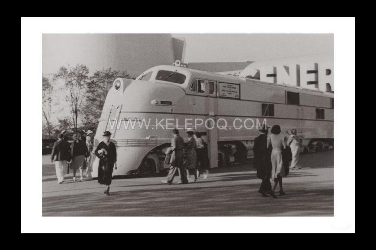 Photo d'époque locomotive n°06 - Locomotive Diesel General Motors Exposition Internationale New-York 1939