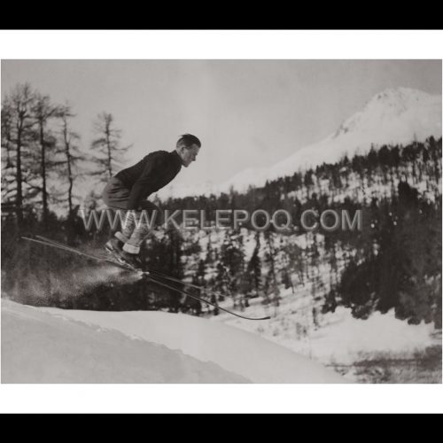 Photo d'époque montagne n°78 - ski