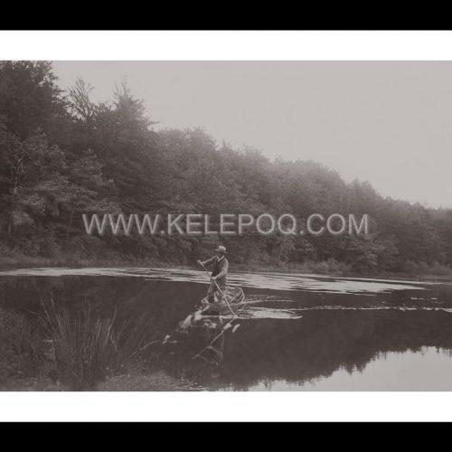 Photo d'époque pêche n°76 - Jacques, le pêcheur - 1896