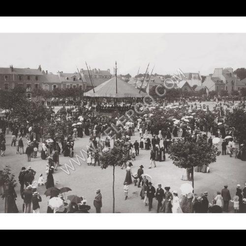 Photo d'époque urbain n°19 - fête nationale Bretagne Sud