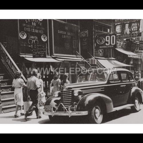 Photo d'époque New-York n°15 - quartier juif New-York - 1939