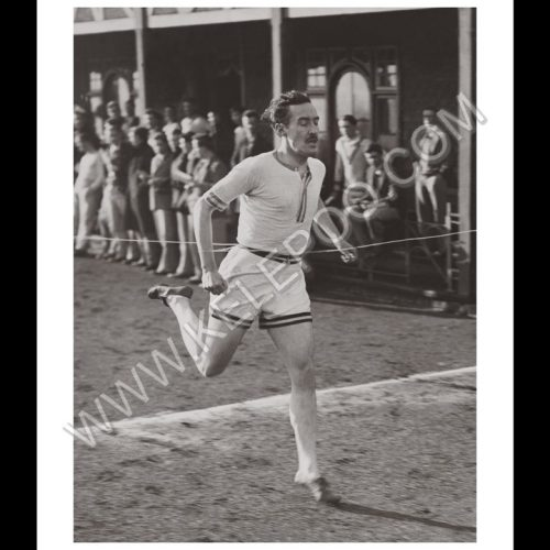 Photo d'époque sport n°38 - 800 mètres - athlétisme inter-université Oxford