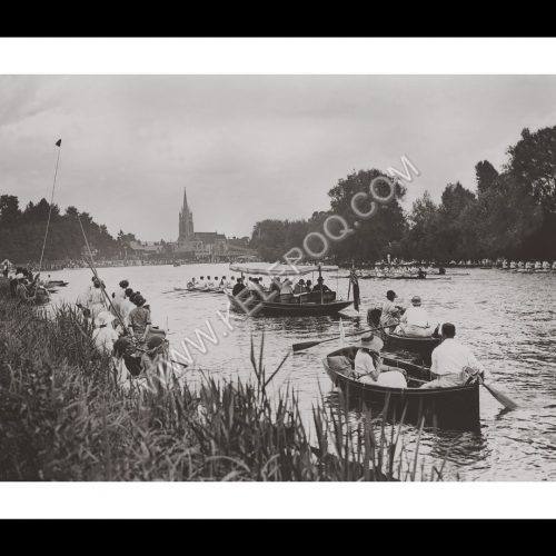 Photo d'époque sport n°43 - Marlow Regatta - Photographe V.Forbin