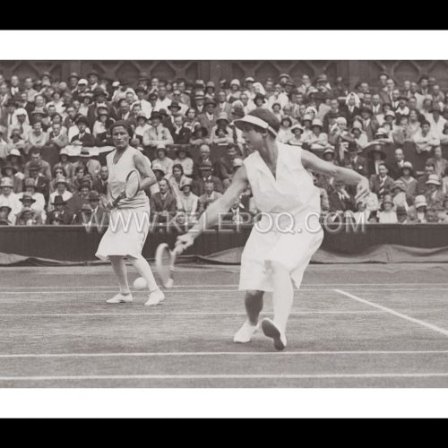 Photo d'époque sport n°53 - finale double dames - Wimbledon - H. Wills et E. Ryan