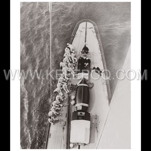 Photo d'époque sur l'eau n°03 - grand voilier classe J