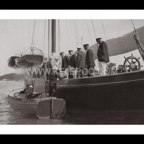 Photo d'époque sur l'eau n°04 - bateau Roi Albert