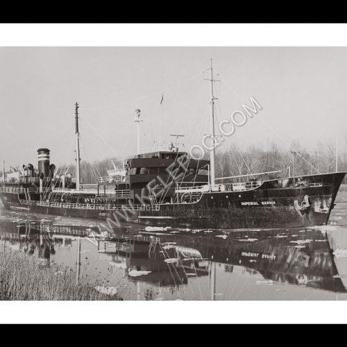Photo d'époque sur l'eau n°11 - pétrolier Imperial Sarnia