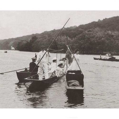 Photo d'époque sur l'eau n°16 - promenade en barque