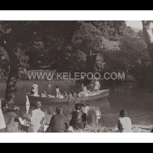 Photo d'époque sur l'eau n°20 - Mills College - reconstitution historique